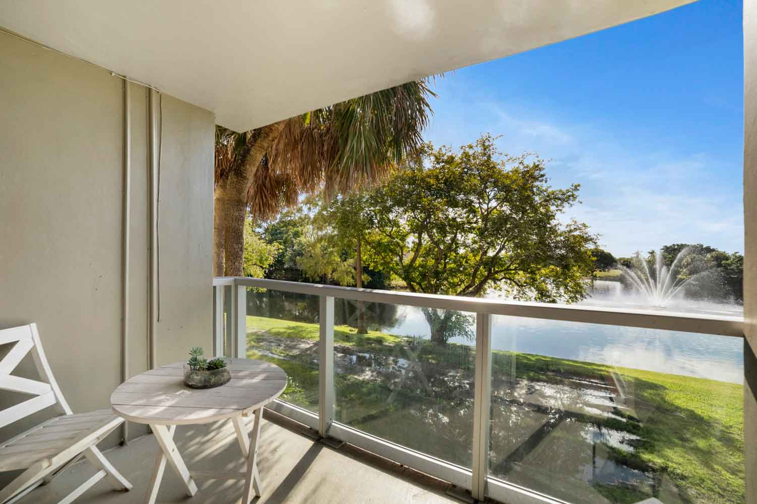 Lake and Golf Course Views at Nottingham Pine Apartments in Plantation, FL