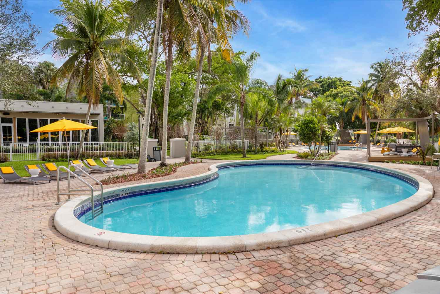 Resort-Style Swimming Pool at Nottingham Pine Apartments in Plantation, FL