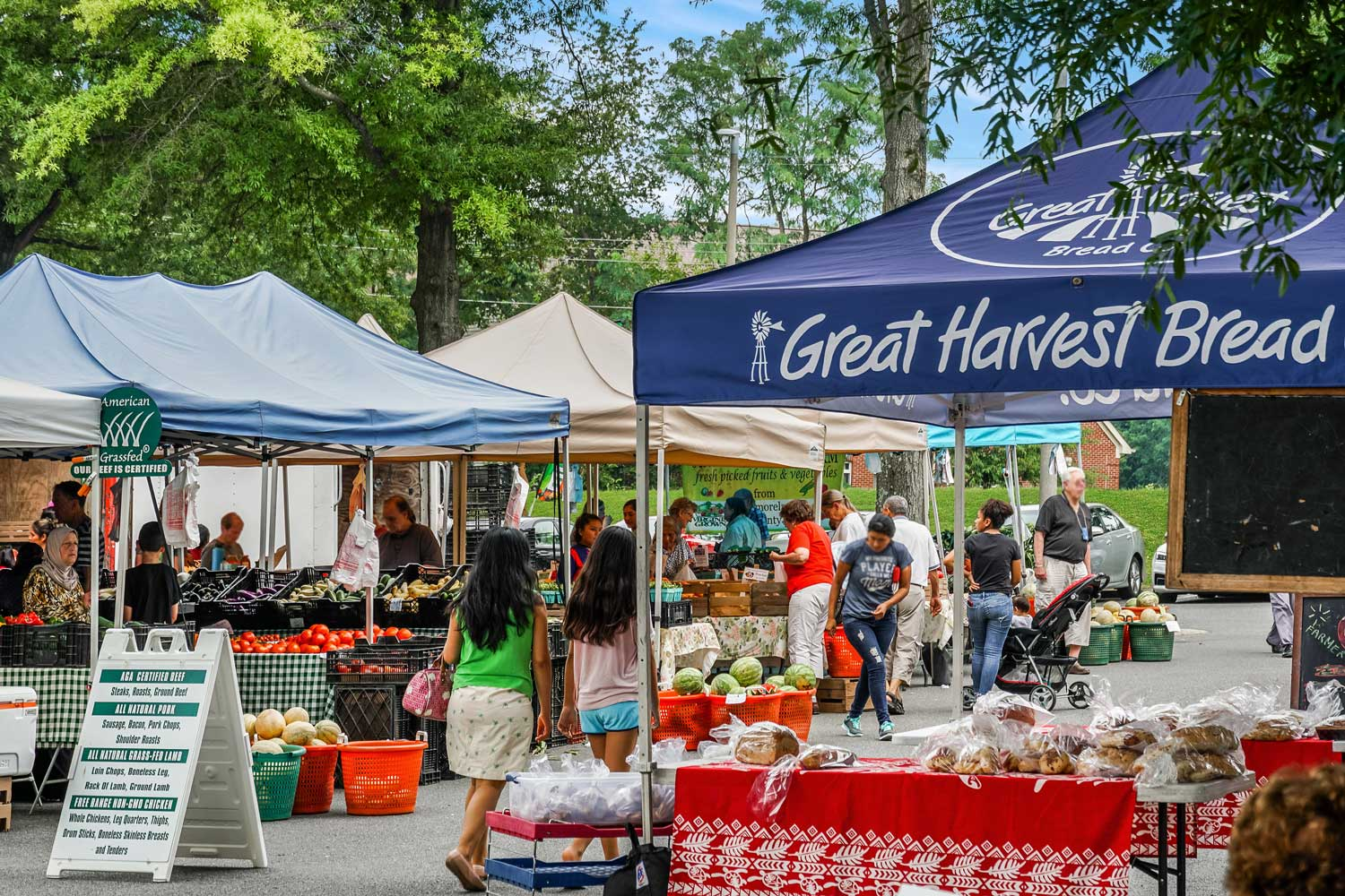 Annandale Farmers' Market is 5 minutes from Barcroft Plaza Apartments in Falls Church, VA