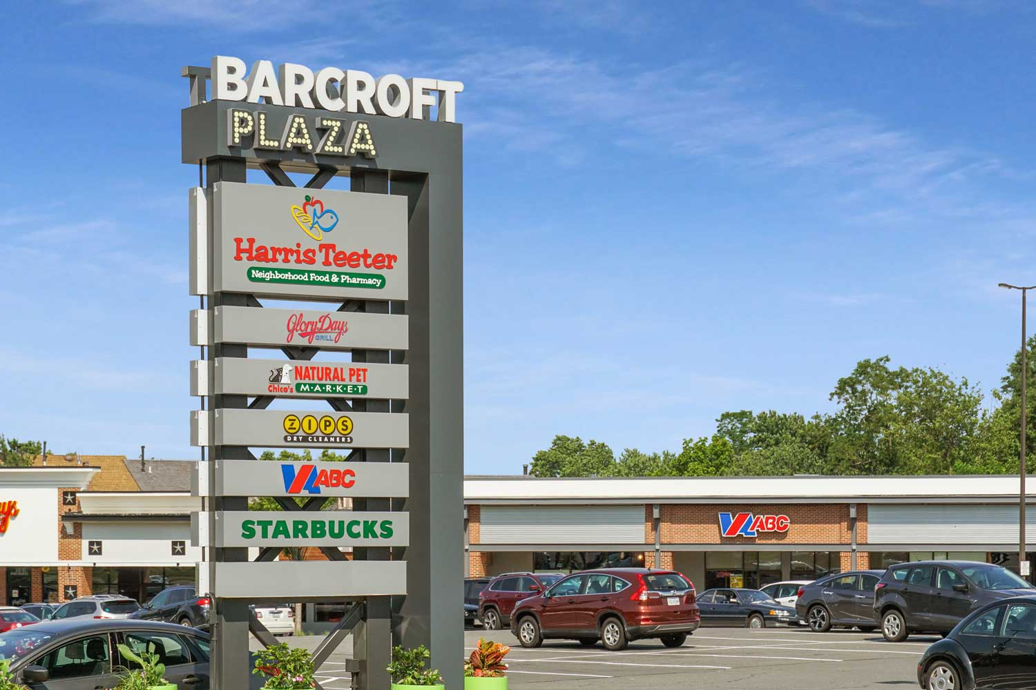 Barcroft Plaza shopping center 5 minutes from Barcroft Plaza Apartments in Falls Church, VA