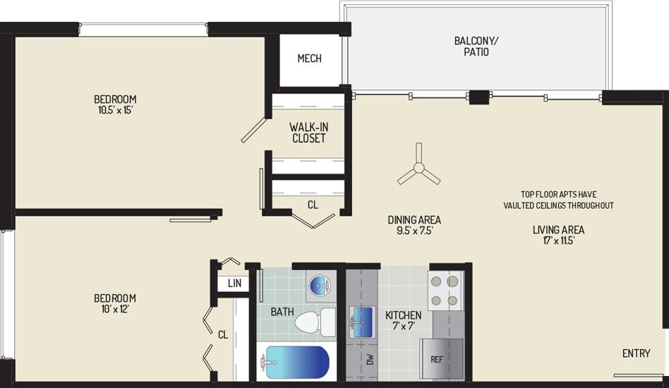 Barcroft Plaza Apartments - Apartment 193631-112-G2