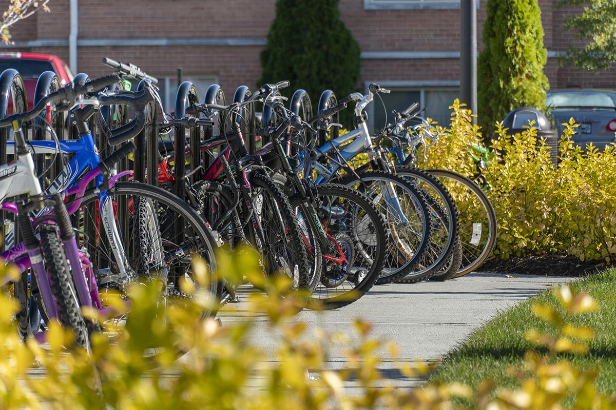 Onsite bike storage at Barcroft View Apartments in Falls Church, VA