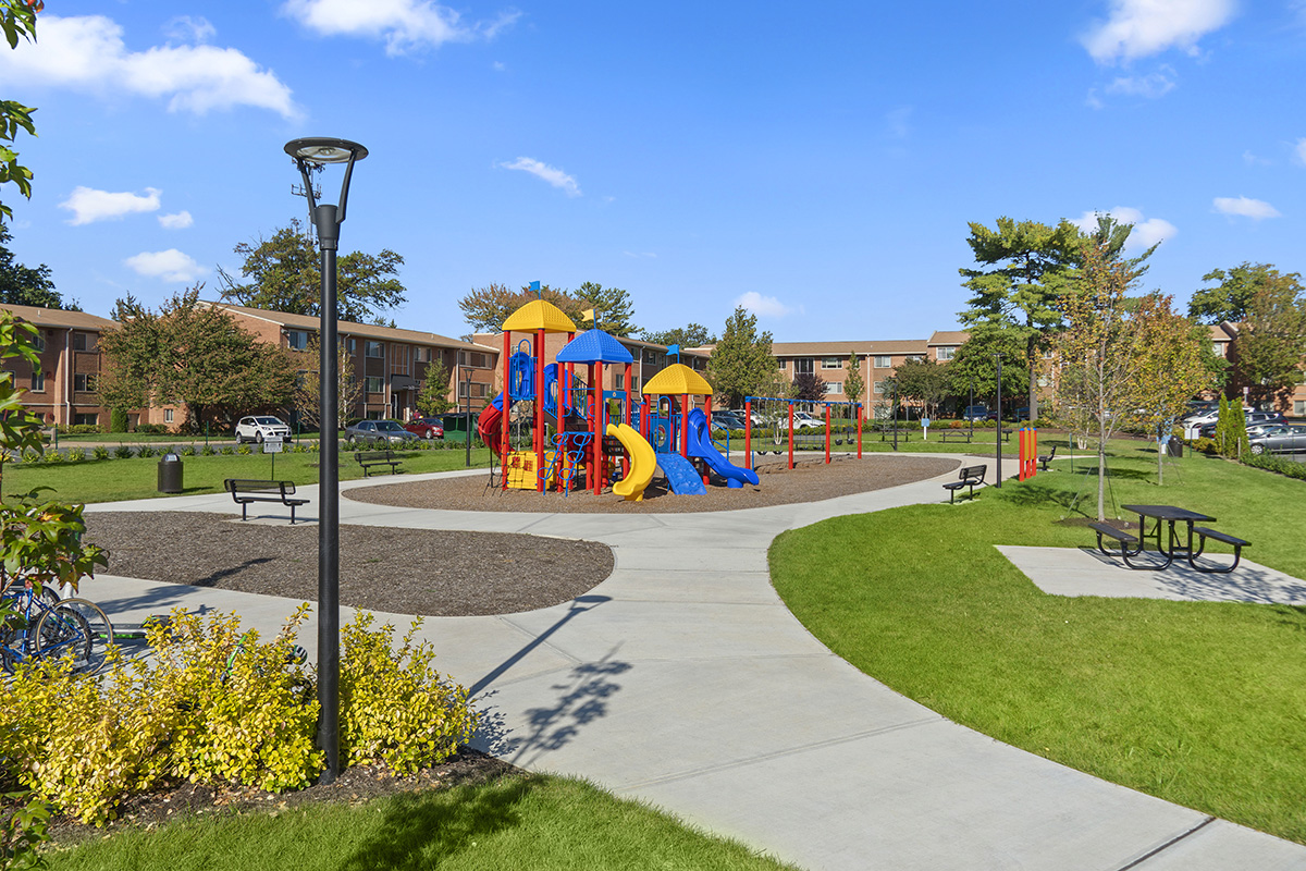 Brand new onsite park at Barcroft View Apartments in Falls Church, VA