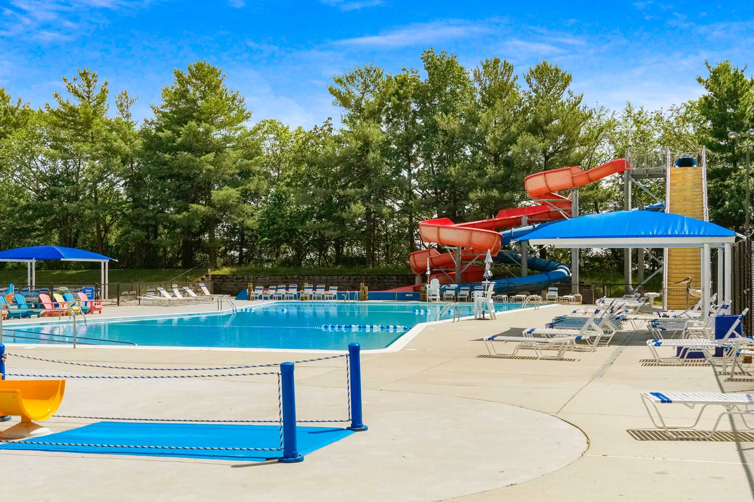 Ocean Dunes Waterpark is 10 minutes from Barcroft View Apartments