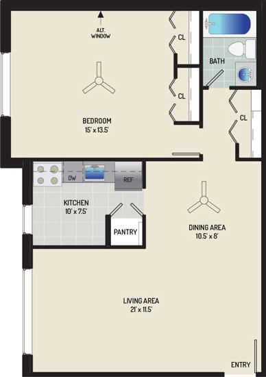 Barcroft View Apartments - Apartment 013633-203-A1