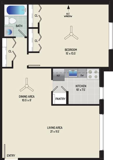 Barcroft View Apartments - Apartment 013633-304-A2