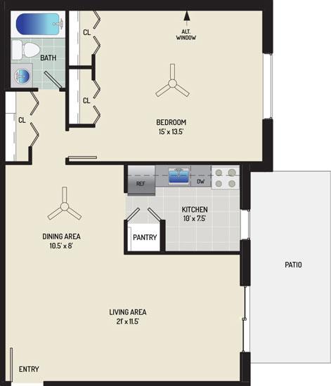 Barcroft View Apartments - Apartment 013631-102-B2