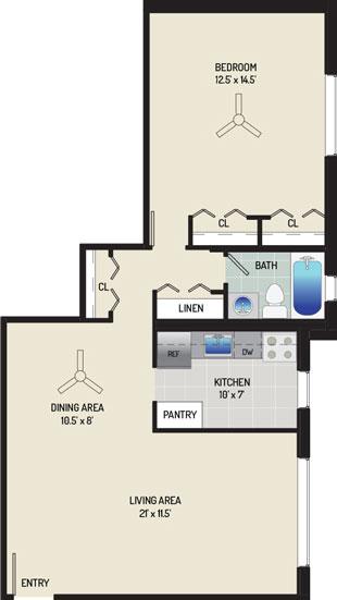 Barcroft View Apartments - Apartment 013625-302-C2