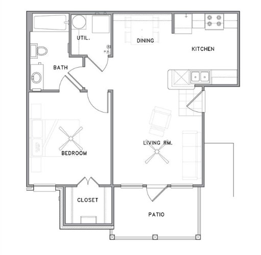 The Reserve on Bayou DeSiard - Floorplan - A1