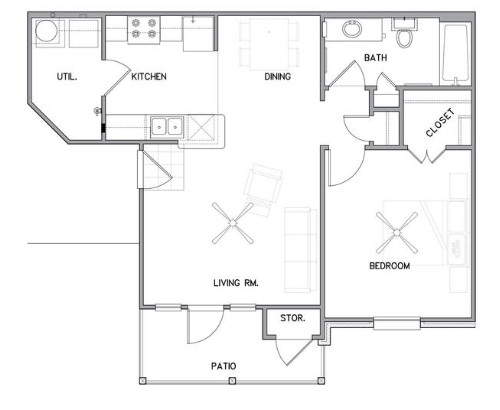 The Reserve on Bayou DeSiard - Floorplan - A2