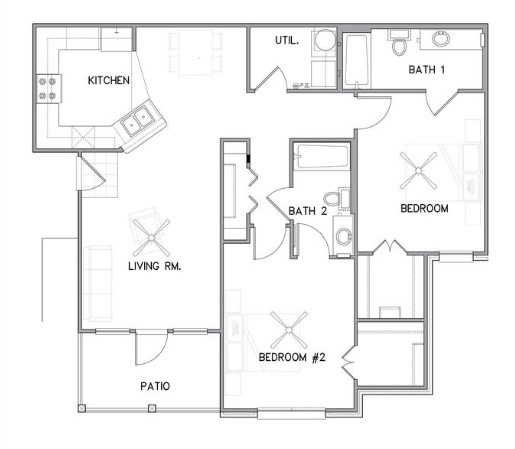 The Reserve on Bayou DeSiard - Floorplan - B1
