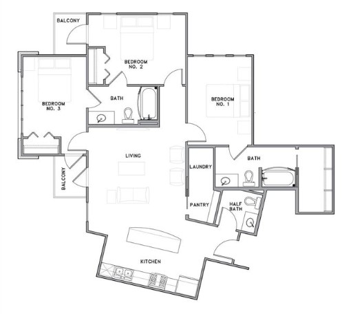 The Reserve on Bayou DeSiard - Floorplan - C2