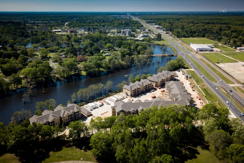 Convenient Location at The Reserve on Bayou DeSiard Apartments in Monroe, LA