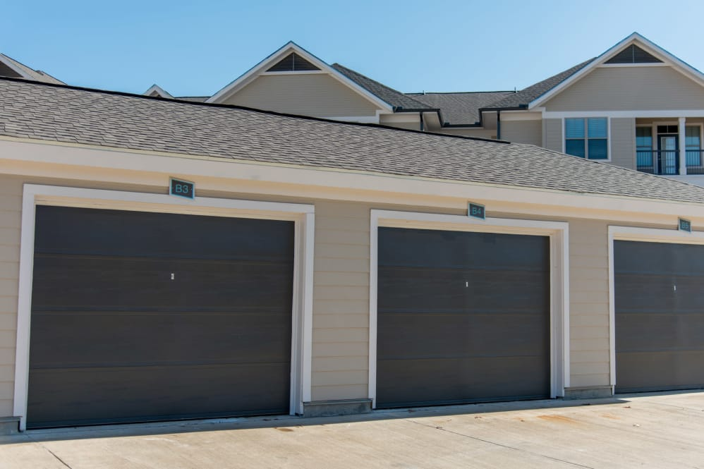 Detached Garages at The Reserve on Bayou DeSiard Apartments in Monroe, LA