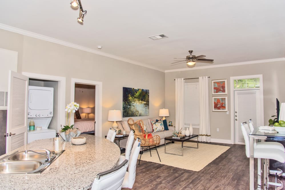 Spacious Floor Plans at The Reserve on Bayou DeSiard Apartments in Monroe, LA
