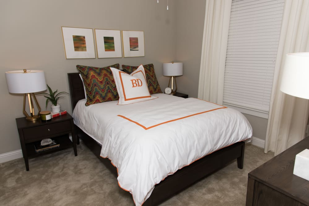 Carpeted Flooring at The Reserve on Bayou DeSiard Apartments in Monroe, LA