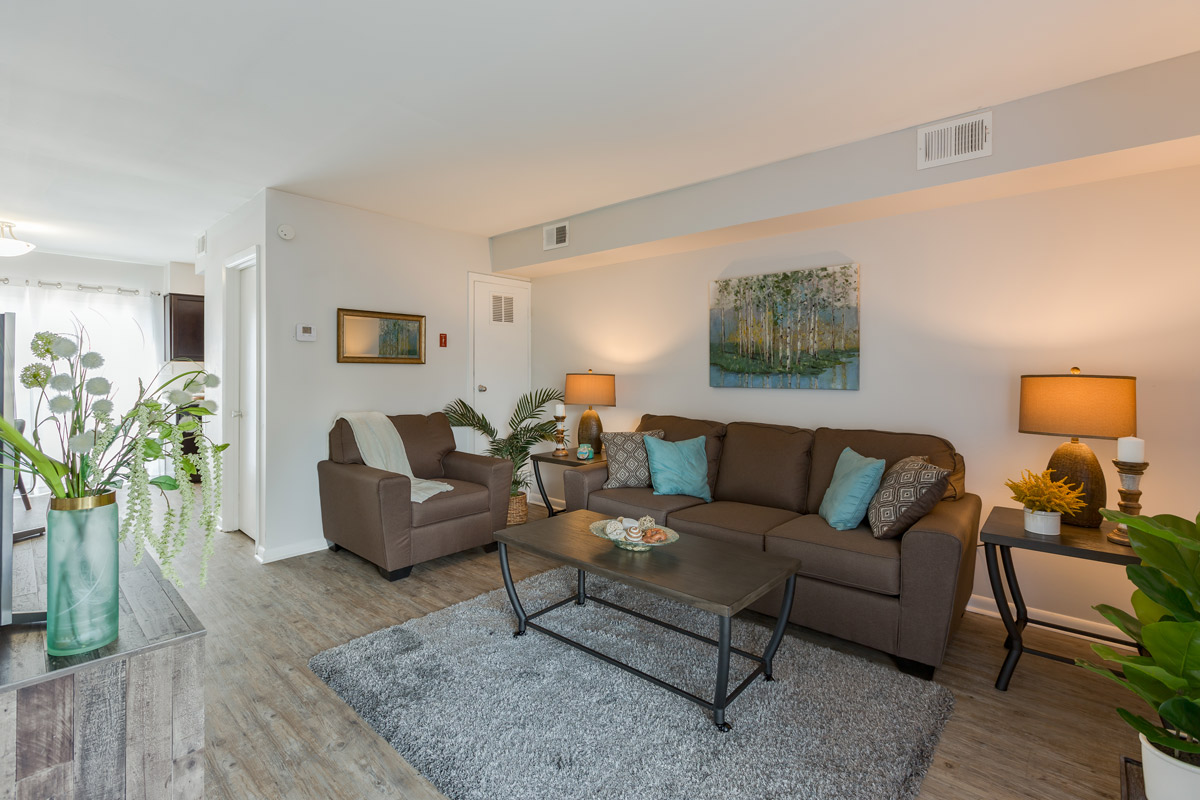 Spacious Floor Plans at BayPointe Crossing Apartments in Virginia Beach, Virginia