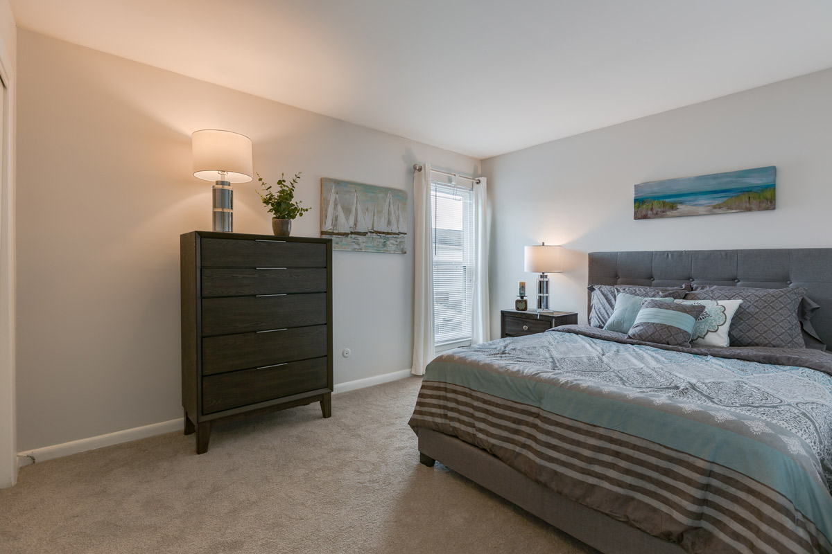 Large Bedrooms at BayPointe Crossing Apartments in Virginia Beach, Virginia
