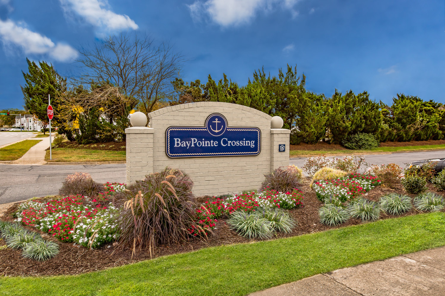 Entryway at BayPointe Crossing Apartments in Virginia Beach, Virginia