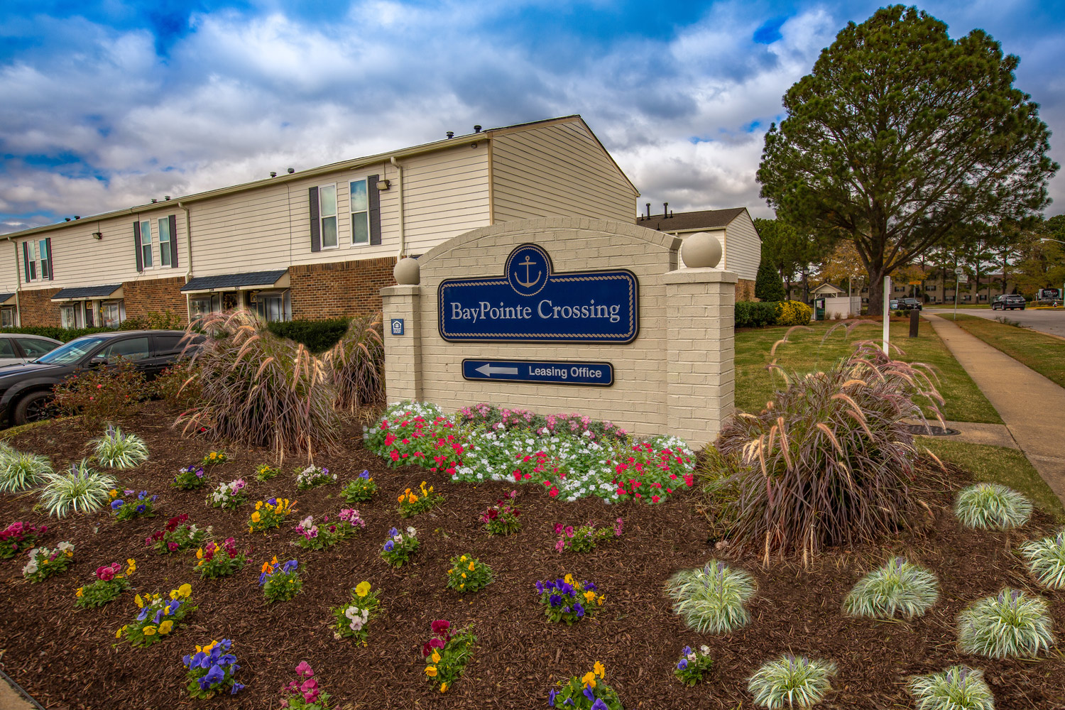 A pleasant access at BayPointe Crossing Apartments in Virginia Beach, Virginia