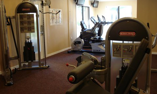 Fitness Center at the Baywater Apartments in Tampa, FL