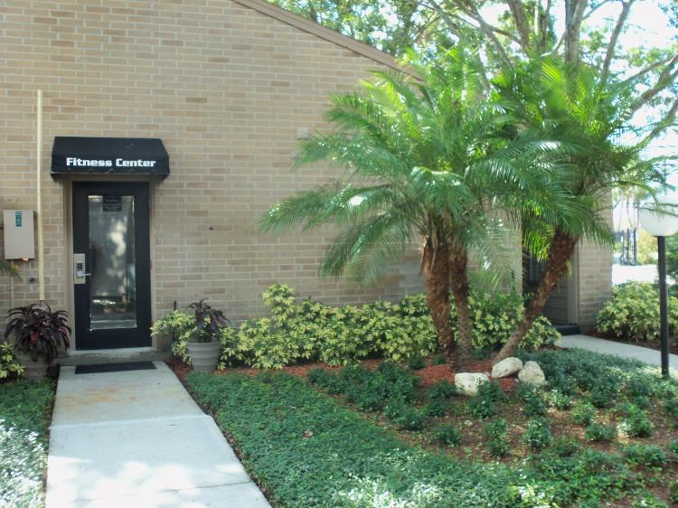 Entrance of Fitness Center at the Baywater Apartments in Tampa, FL