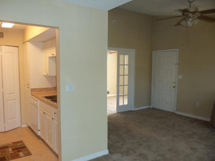 Kitchen and Dining Area at the Baywater Apartments in Tampa, FL