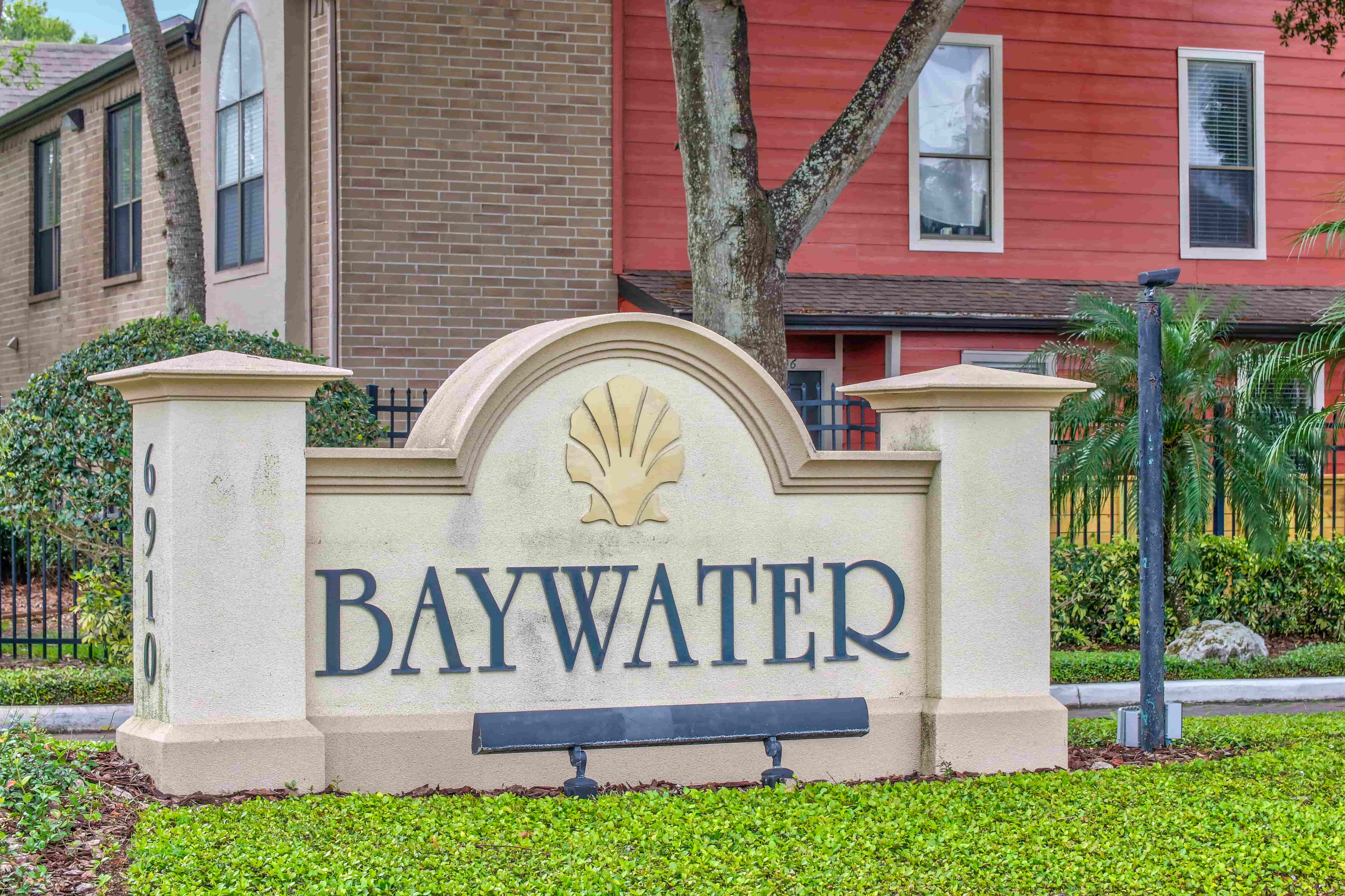 Exterior at the Baywater Apartments in Tampa, FL