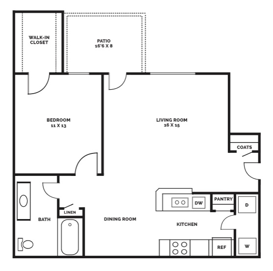 Beaumont Trace - Floorplan - A2