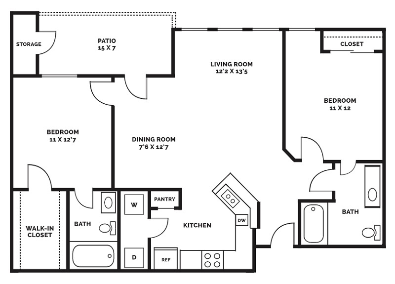 Beaumont Trace - Floorplan - B1