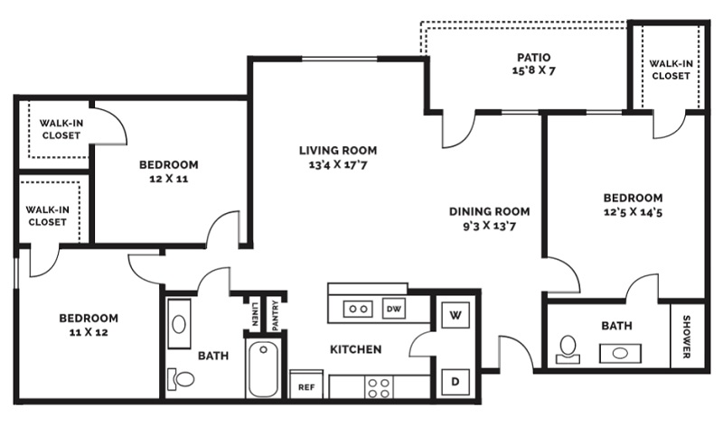Beaumont Trace - Floorplan - C1