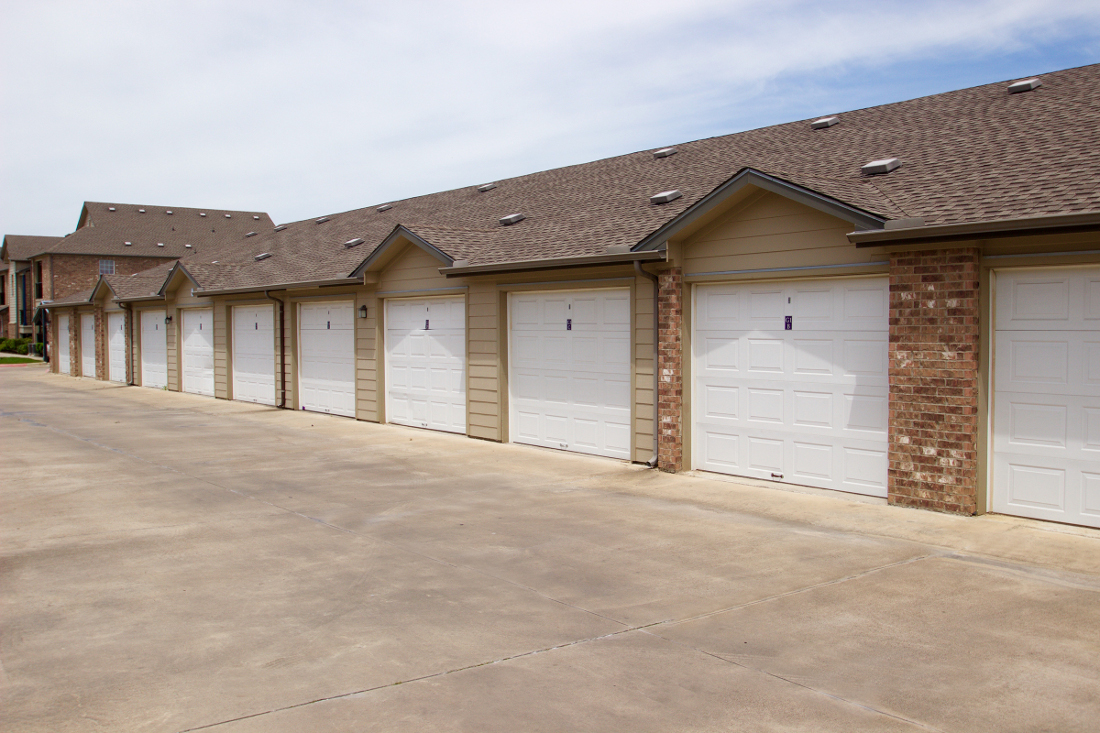 Private Storage at Beaumont Trace Apartments in Beaumont, TX