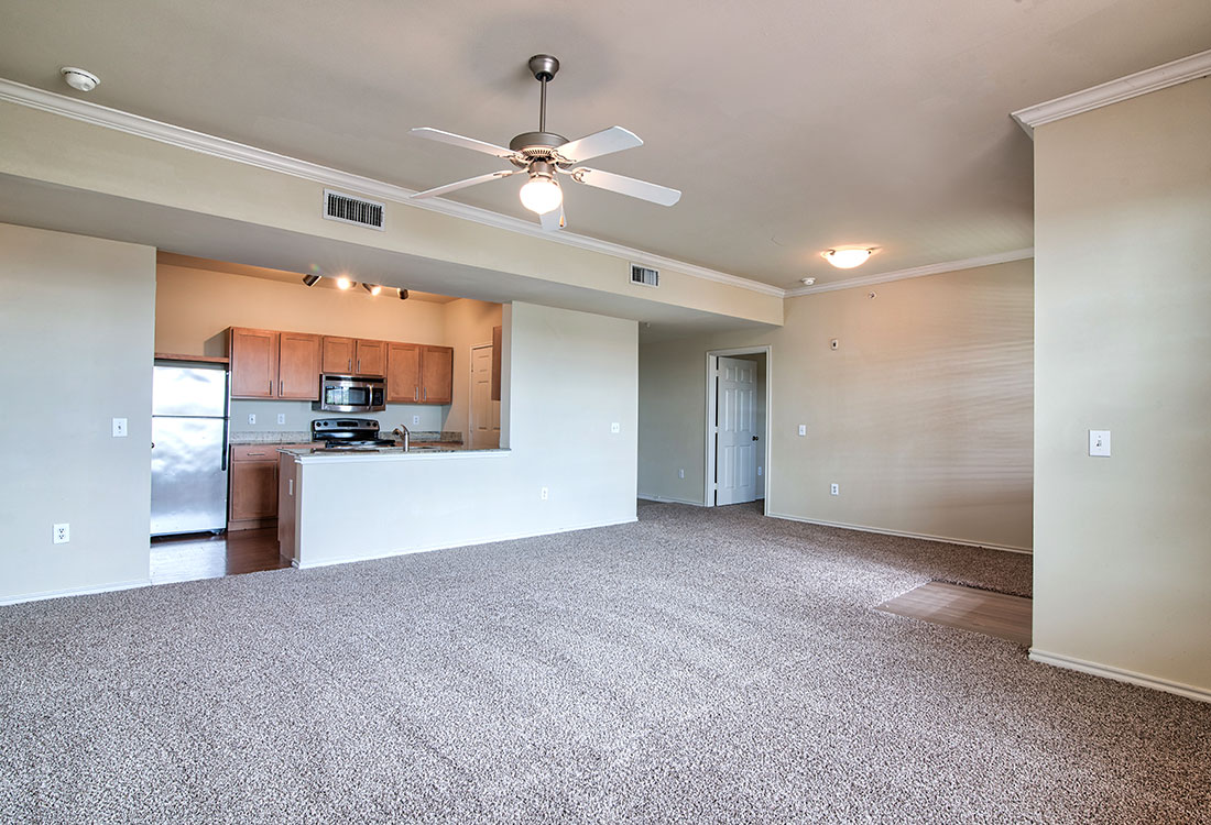 Open Floor Plans at Beaumont Trace Apartments in Beaumont, TX