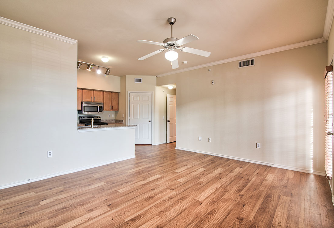 Plank Flooring at Beaumont Trace Apartments in Beaumont, TX
