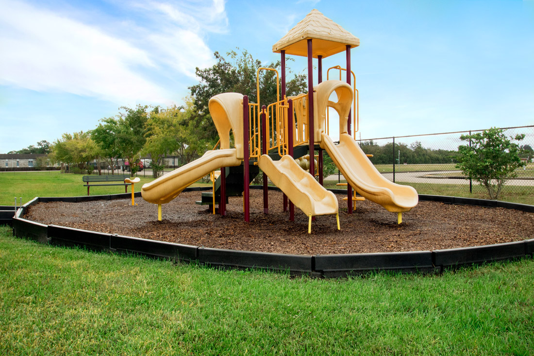 Playground at Beaumont Trace Apartments in Beaumont, TX