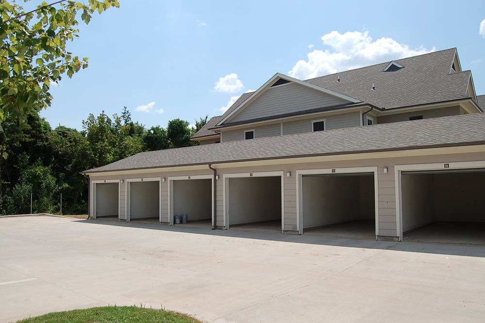 Garages Available at Belle Savanne Luxury Apartment Homes in Sulphur, LA