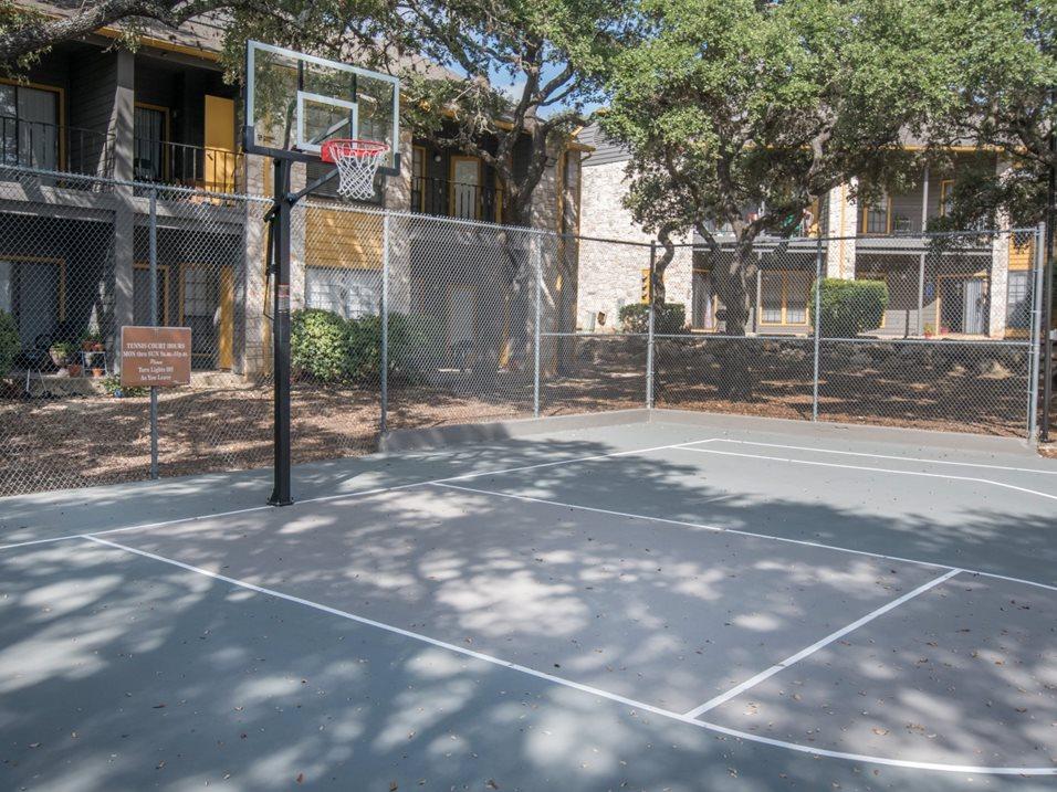 Basketball Court at Blair at Bitters Apartments in San Antonio, TX