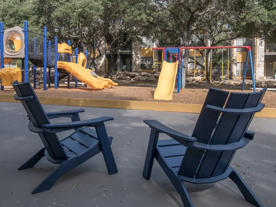 Outdoor Community Spaces at Blair at Bitters Apartments in San Antonio, TX