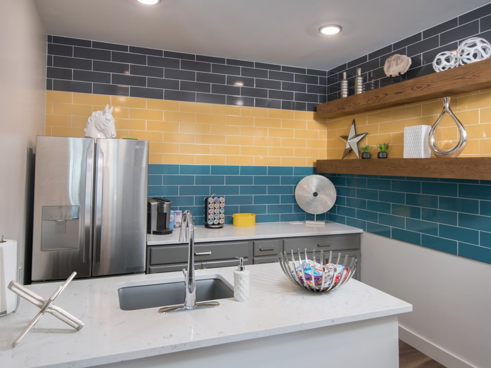 Fully Equipped Kitchen at Blair at Bitters Apartments in San Antonio, TX