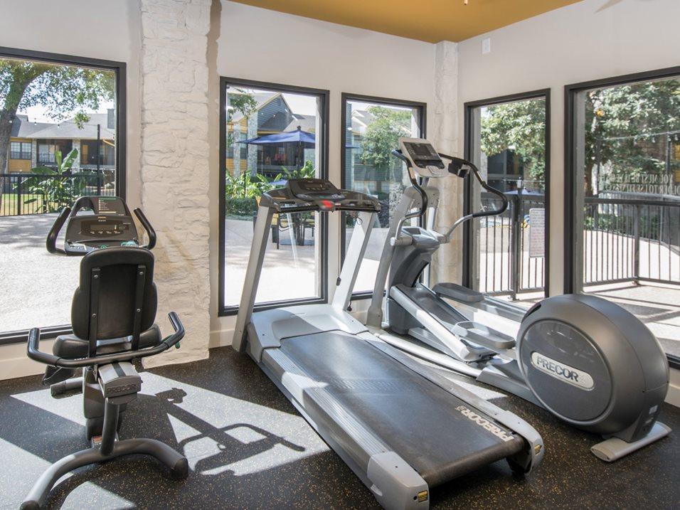 Fitness Center at Blair at Bitters Apartments in San Antonio, TX