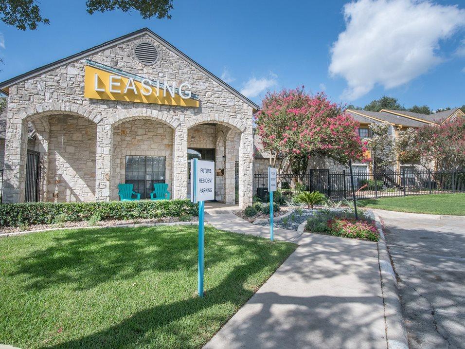 Leasing Center at Blair at Bitters Apartments in San Antonio, TX