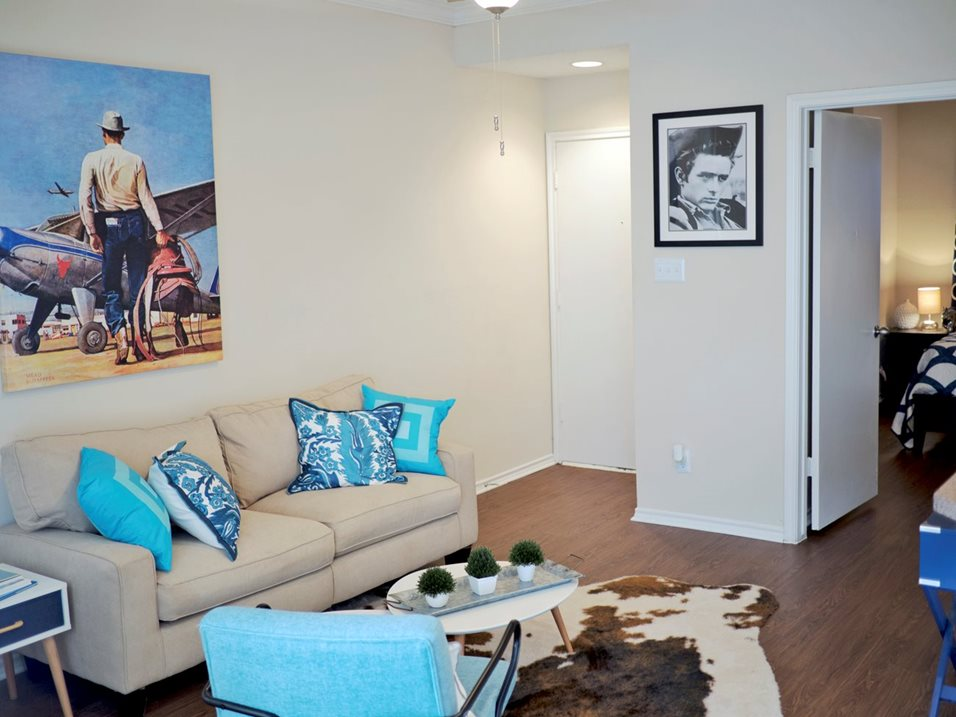 One and Two-Bedroom Apartments at Blair at Bitters Apartments in San Antonio, TX