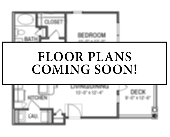 Floorplan - 2 Beds 1 Bath TH image