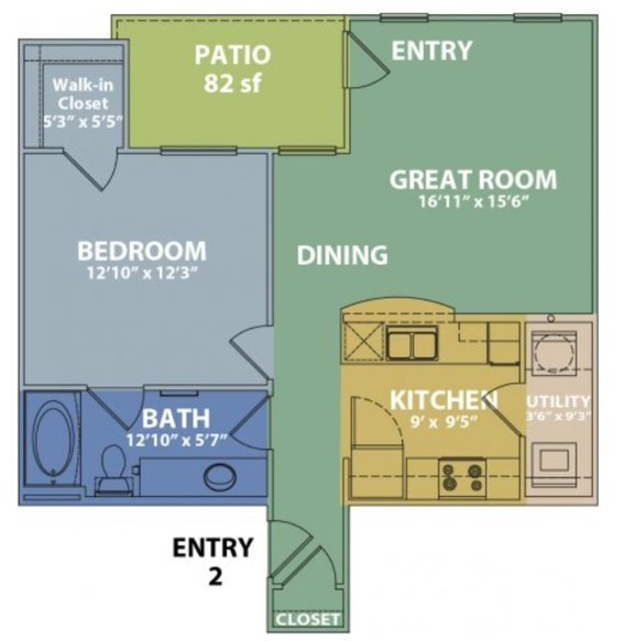 The Boulders on Fern - Floorplan - A
