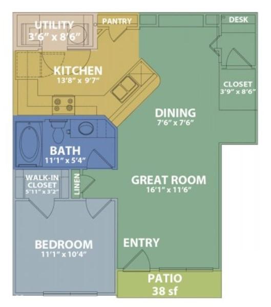 Floorplan - B image