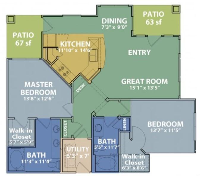 Floorplan - D image