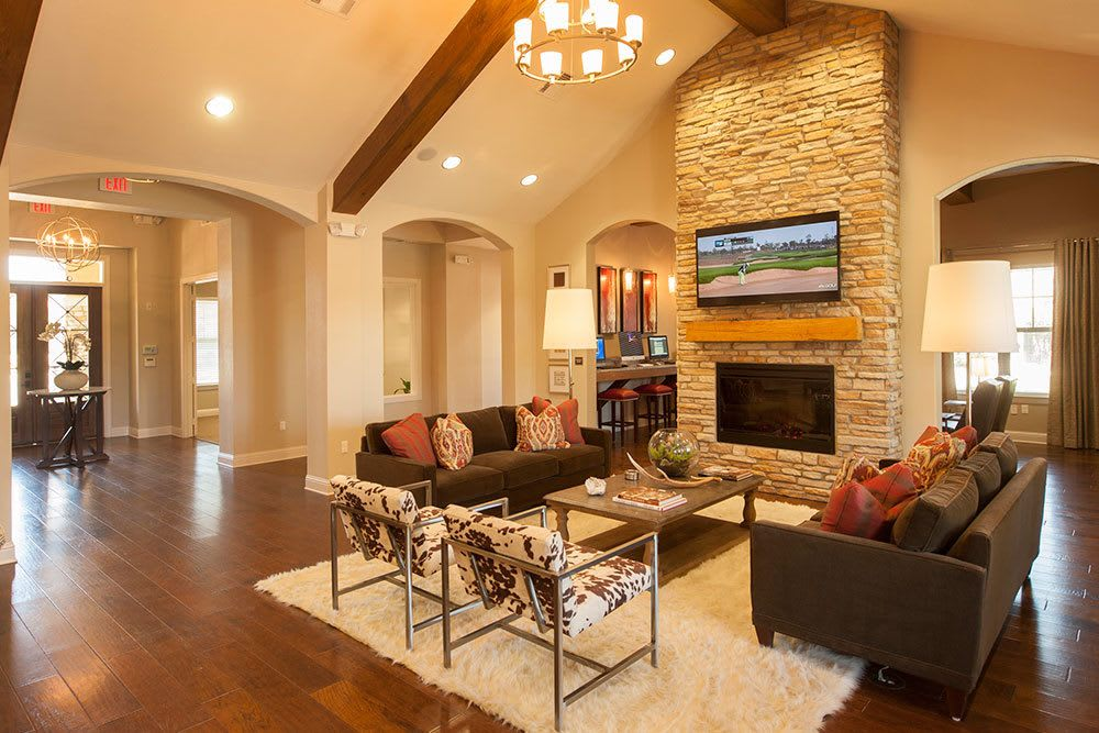 Resident Clubhouse at The Boulders on Fern Apartments in Shreveport, LA
