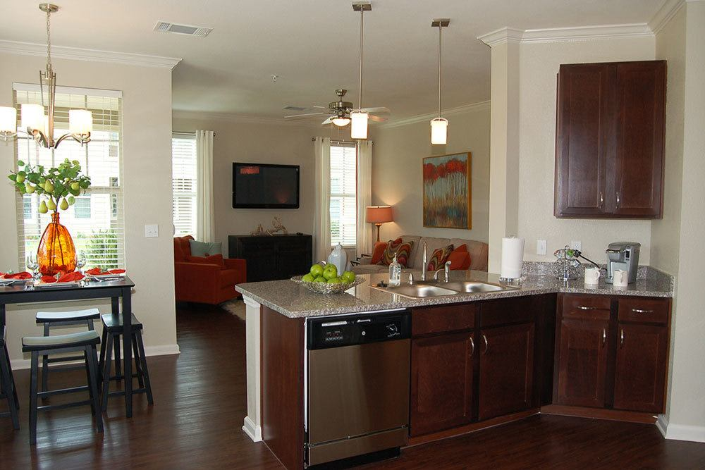 Stainless Steel Appliances at The Boulders on Fern Apartments in Shreveport, LA