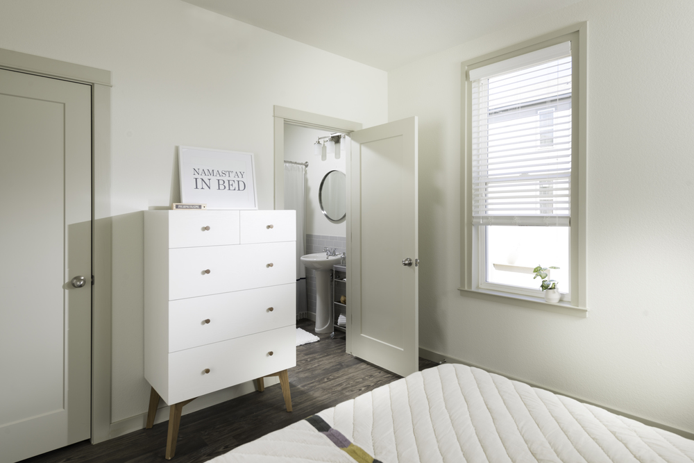 En-Suite Bathroom at The Briq on 4th Street in Bentonville, Arkansas