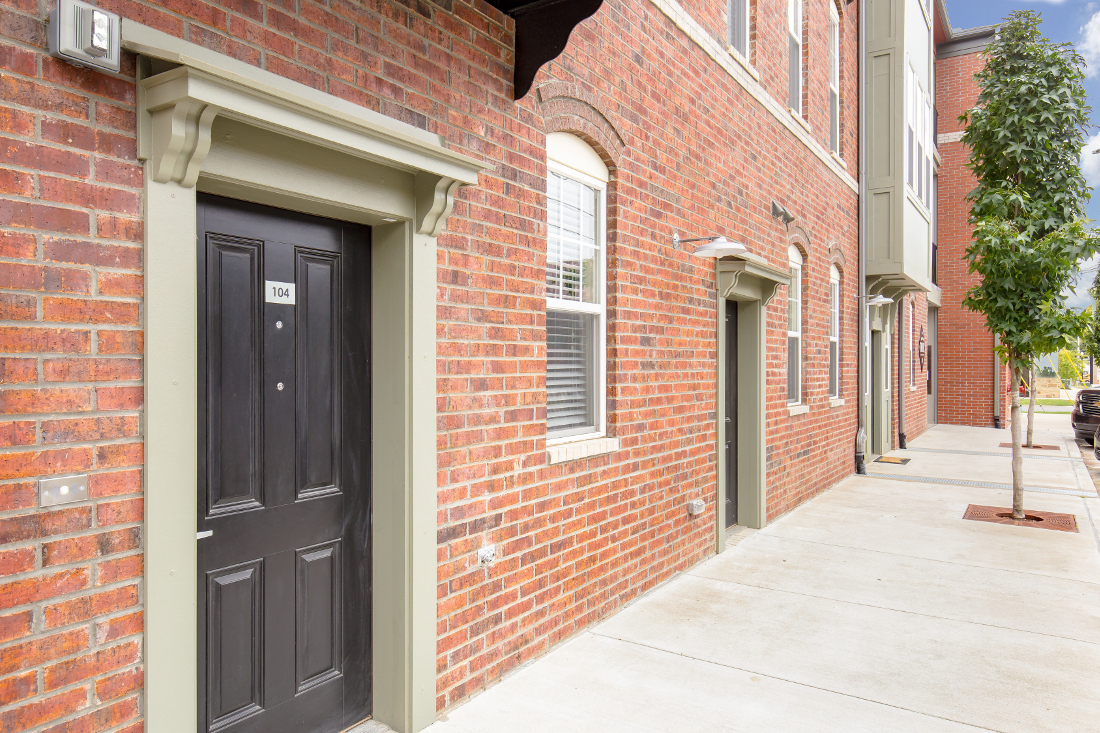Stylish Apartment Homes at The Briq on 4th Street in Bentonville, Arkansas